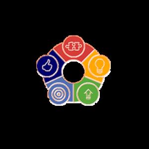 Λογότυπο με το μότο